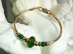 French Mermaid Collection by Suzanne S. Suber: Mint Candy Bracelets