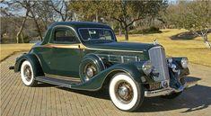 1935 Pierce-Arrow 845 Rumble-Seat Coupe.