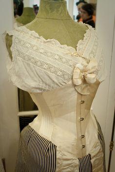 Lace embrace corset exhibition 2012