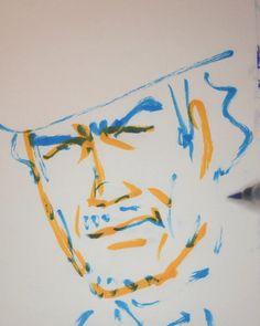 いいね!1件、コメント1件 ― @1mindrawのInstagramアカウント: 「#1mindraw #clinteastwood #クリントイーストウッド #19300531 #birthday #誕生日 #portrait #筆ペン画」