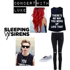 """Luke Hemmings"" by rebeloftheball on Polyvore"