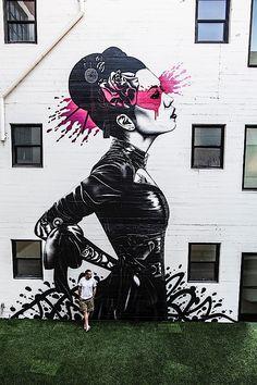 Fantastische Urban Art von Fin DAC