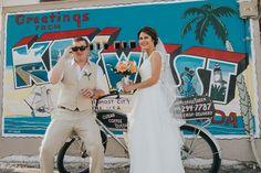 Christian & Trey's Beachy, Peachy Key West Sailboat Wedding