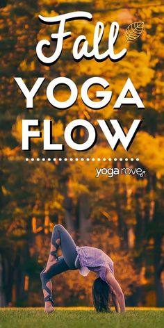 This is one of my favorite yoga flows. I know it says autumn yoga, but as a beginner student I love practicing this at home all the time! Great for flexibility and weightloss!