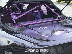 Bolt-in Roll Cage in Curve Anubis RX-7 FD3S