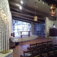 Chapel at the Seminary of the Southwest. Great acoustics for music. First saw it in 1992 and worshiped there weekly for three years. My crucible of liturgy formation. Diffusers, Acoustic, Worship, Music, Table, Furniture, Home Decor, Musica, Musik