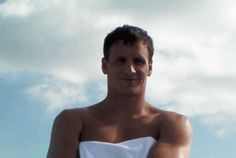 Ryan Lochte. Click to the NyMag article, and he'll blow you a kiss.