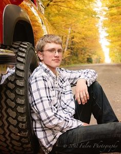 senior picture ideas for guys | Senior Photography Senior Boy Poses Truck Fall Colors Back Country ...