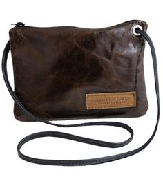 """Keep everything organized and stylish with our """"Molasses Leather Clutch Purse"""" handcrafted for you at Copper River Bags .com"""