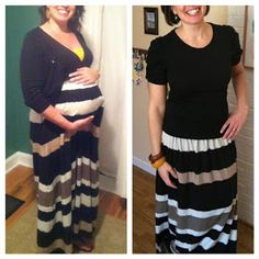 Rawther Unusual: How to UN-maternity clothes