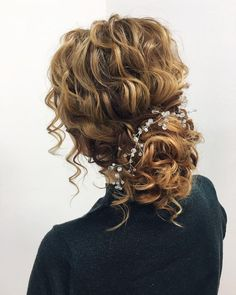87 Fabulous Wedding Hairstyles For Every Wedding Dress Neckline Textured wedding updo hairstyle ,messy updo wedding hairstyles ,chignon , messy updo hairstyles ,bridal updo Best Wedding Hairstyles, Up Hairstyles, Braided Hairstyles, Haircuts, Natural Hair Styles, Short Hair Styles, Curly Hair Styles Wedding, Wedding Hairstyles For Curly Hair, Natural Curly Hair Updos