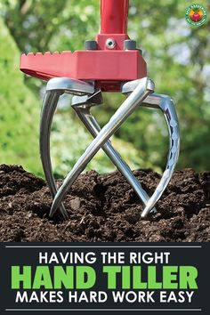 When you have to till you need a quality tiller. Find out all you need to know to choose the right hand tiller with our complete buyer's guide! Best Garden Tools, Backyard Vegetable Gardens, Garden Guide, Garden Ideas, Garden Cultivator, Landscaping Tools, Farm Tools, Farm Gardens, Gardens