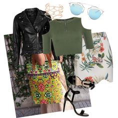 Green.valley by owlnightmare on Polyvore featuring polyvore fashion style WearAll VIPARO Dorothy Perkins Alexis Bittar Christian Dior