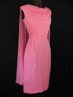 Rainier cascade cocktail dress