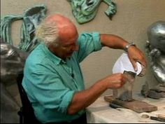 How to Make a Horse Head Sculpture : Sculpting the Face of a Horse Head: Part 1