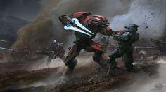 From Halo To Guild Wars, This Concept Art Stays Gorgeous | Kotaku Australia