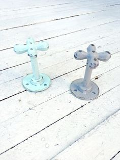 Water Faucet Wall Hooks, Towl Hooks, Iron Wall Decor, Door Hook, Keys Hook, Door Hardware,Antique,Home and Garden,Aqua Grey,Home Living,Cute by TheIronNook on Etsy