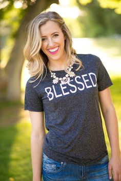 """Blessed"" Graphic Tee"