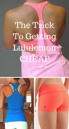 Sale! Buy lululemon and other workout gear at up to 70% off! Click image to install the free Poshmark app now.