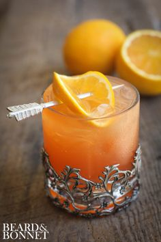 Blood Orange Margarita | Beard & Bonnet | #orange #margarita