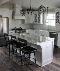 Kitchens In White Granite Quartz Marble