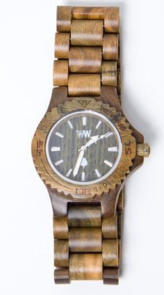 Guaiaco wood watch #wewood #watch www.begoodclothes.com