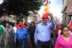 El coordinador estatal petista, Reginaldo Sandoval, expresó su absoluto respaldo a los manifestantes de este día, pues consideró que la lucha social es la única vía para hacer saber al ...