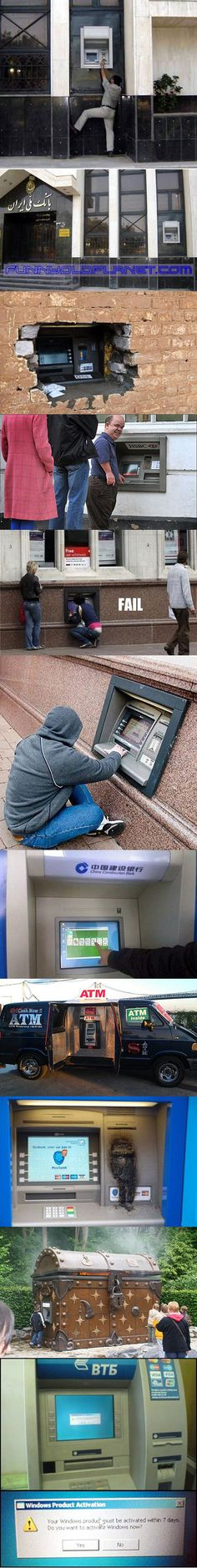 Here are some bizarre ATM design and machine FAILS that might shock you.