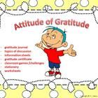 """27-page package targets pragmatics/emotions - includes instructional material, topics for discussion such as """"empathy"""" and """"appreciation"""", and a gratitude journal"""