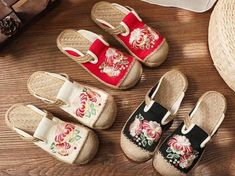 Spedizione gratis Baby Shoes, Clothes, Style, Products, Fashion, Types Of Heels, Floral Design, Seasons, Slippers