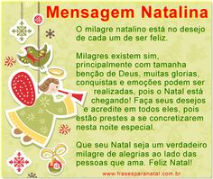 mensagem natalina, mensagens para o natal