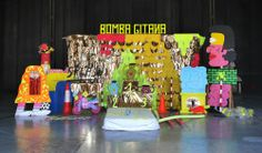 "Installation-game ""BOMBA GITANA"" for Matadero de Madrid.  With Ruohong Wu"