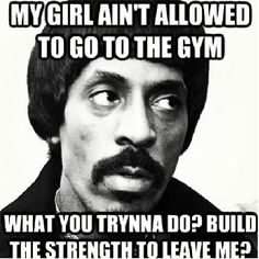 Ike Turner memes...he beat Tina Turner. Why is this considered funny?
