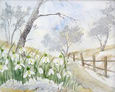 Am Wegesrand - Aquarell - Original - 24 x 30 cm