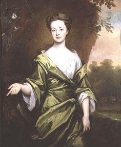 Portrait of a girl in green, probably a marriage portrait 1702    Sir Godfrey Kneller Bt.
