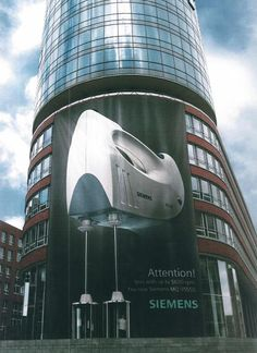 "Guerrilla Advertising ""Siemens"""