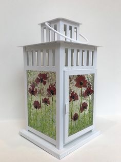 Faux Stained Glass, Fused Glass Art, Lanterns Decor, Glass Lanterns, Glass Lamps, Glass Fusing Projects, Ikea Lamp, Candle Shades, Glass Artwork