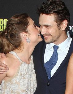 New Couple Alert! James Franco and Ashley Benson Get Flirty at 'Spring Breakers' Premiere
