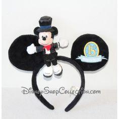 Serre-tête Mickey DISNEYLAND PARIS oreilles de Mickey Mouse 15 magical years