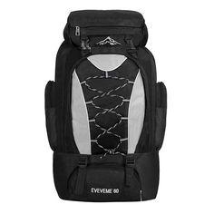 60L Outdoor Mountaineering Bags Hiking Capacity Waterproof Backpack - US$29.95