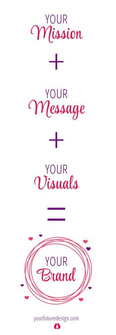 You Mission + Your Message + Your Visual = Your Brand never underestimate the power of your unique way to create! ♥️ You are one of the kind! Show up, trust, be seen, earn money with who you are!