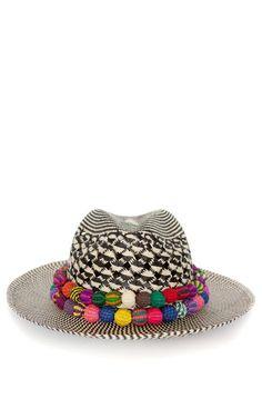 Image result for pom pom panama hat