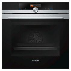 Buy Siemens HB656GBS1B Built-In Single Oven, Stainless Steel / Black Online at johnlewis.com