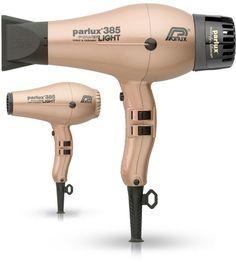 Parlux presenta su nuevo Secador 385 Powerlight Gold, descúbrelo..http://bit.ly/1GGO3EZ
