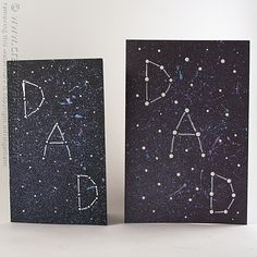 Your dad is definitely out of this world, so give him his very own constellation with this fun galaxy themed Father's Day Card. I will show you how to achieve this look!  Head over to my tutorial for this Galaxy Constellation Father's Day Card on Spoonful