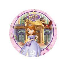 Oblea para tarta de la Princesa Sofía http://www.articulos-fiestas-infantiles.es/676-obleas-para-tartas