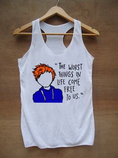 500a33c85a Ed Sheeran The A Team Lyric Cartoon Black and White by Janetees