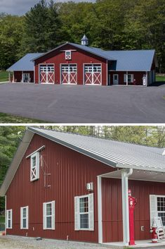45 Durable & Beautiful Steel Homes That You Have To See - House Topics Residential Steel Buildings, Metal Buildings, Metal Building Homes, Building A House, Steel Homes, Steel Frame House, Living Spaces, Shed, Things To Come
