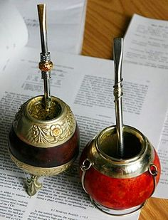 The herbal infusion yerba mate is caffeinated + incredibly popular today in South America and, surprisingly, Syria. Gaucho, Yerba Mate Tea, Elixir Of Life, Tea Ceremony, South America, Latin America, Energy Drinks, Tea Party, Herbalism