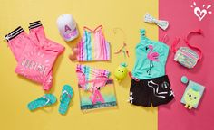 Shop cute & colorful tween girl outfits with the latest in clothing at Justice! Discover fun printed tops, on-trend jeans & more of the latest fashions she's sure to love. Kids Outfits Girls, Girls Fashion Clothes, Tween Fashion, Cute Outfits For Kids, Justice Girls Clothes, Justice Clothing, Justice Bags, Barbie Doll Set, Justice Accessories